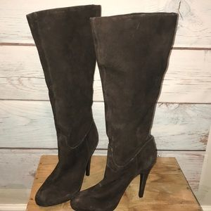Nine West brown suede boot. Brand new with tags.